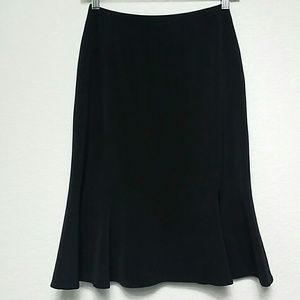 Carlisle Black Skirt Wool Blend